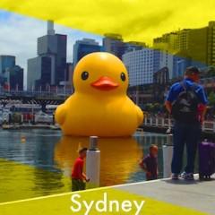 シドニーで発見!ラバー・ダック。