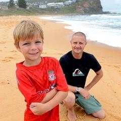 オーストラリアの6歳の男の子が人命救助。
